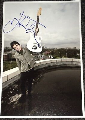 Johnny Marr The Smiths Signed Photo Rare Morrissey Panic Meat Is Murder