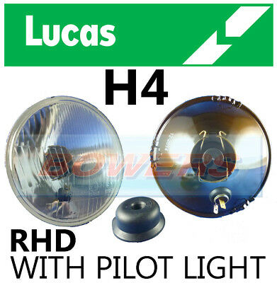 "Lucas 5.75"" 5 3/4"" Inch Classic Car Headlamp Headlight Halogen H4 Conversion"