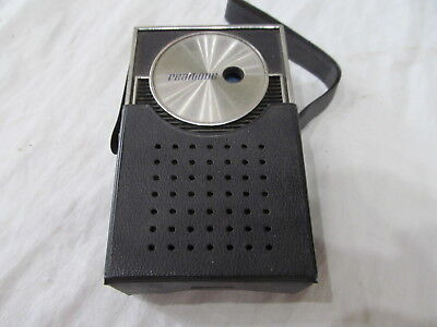 Transistor Radio  Vintage Realtone Radio Am  ( Working Condition )