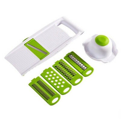 Shredder Shred 5 Piece Sliced Grater Cut The Potatoes Quick Chop Slice K9D1