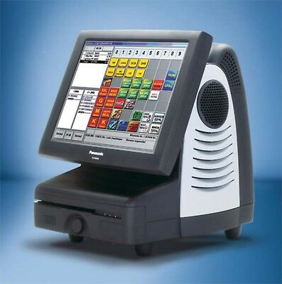 Panasonic JS-935WS POS All-in-One Touchscreen Kassensystem für Gastro und POS