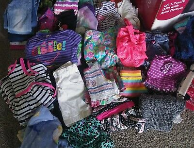 Girls 4-5 Spring Summer fall Clothing LOT..dresses..bathing suits..etc