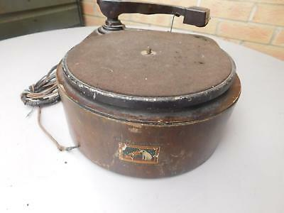 VINTAGE Old HMV 122 A Electric Record Player Gramopohone Deck 78 rpm 1930s