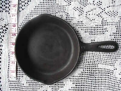 "VTG WAGNER WARE Number (3) C 6 1/2"" Cast Iron Skillet Frying Pan USA  Two Spouts"
