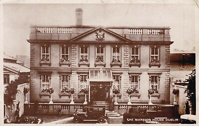 Dublin - The Mansion House & Old Cars - Real Photo By Milton 1936