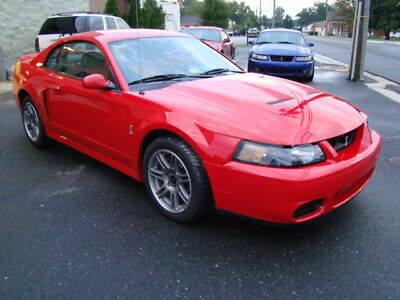 2003 Ford Mustang SVT Cobra 2003 Ford Mustang SVT Cobra 10th Anniversary Super Low Miles