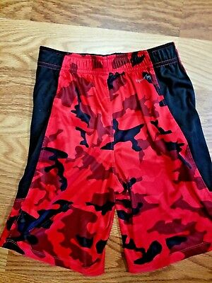 Russell  Dri Fit 360 Boys Size Small  6-7 Red Camo
