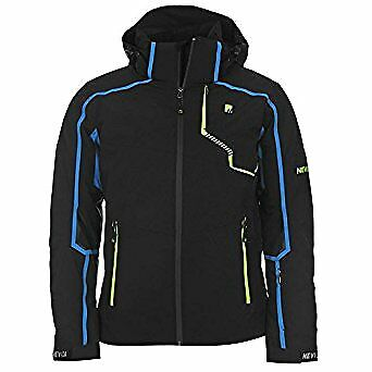 Nevica Mens Demo Jacket Black Size Large Mens