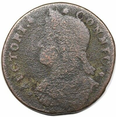 1787 Connecticut Colonial Copper Cent Coin