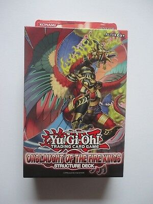 Yu Gi Oh Structure Deck -  Onslaugh Of The Fire King - Ovp