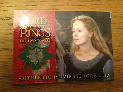 Lord of the Rings The Two Towers Eowyns Underfrock Costume card