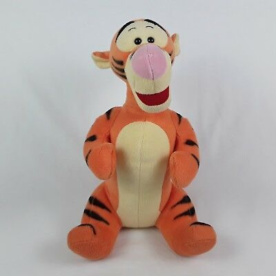 """Disney Tigger From Winnie The Pooh 12"""" Soft Toy Plush Excellent Condition"""