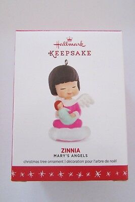 Hallmark Zinnia #29 Mary's Angels Series 2016 Christmas Keepsake Ornaments