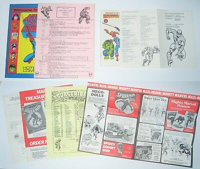 1975 1976 Marvel Comics Convention Programs Plus Extras Stan Lee -  Marvelmania!