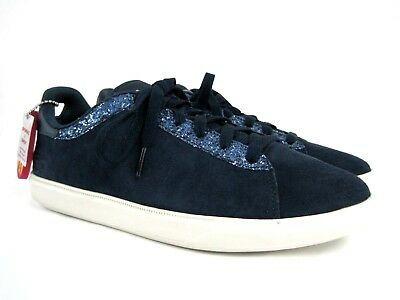 9d92d5f296715 SKECHERS ON THE Go Women's Blue Suede Glitter Goga Max Sneakers Size 8.5 M  NEW - $30.74   PicClick