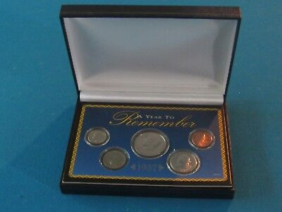 1987 A Year To Remember 5 Coin Set With Box