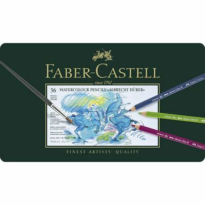 Faber-Castell Albrecht Durer Watercolour Pencils Tin 36 Pack