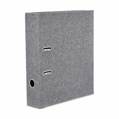 Otto Recycled A4 Lever Arch File Grey
