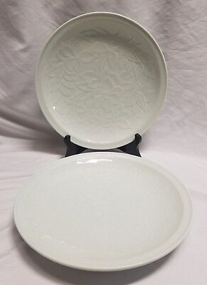 """Set Of 2 Chinese 10"""" Celadon  Porcelain Plate"""