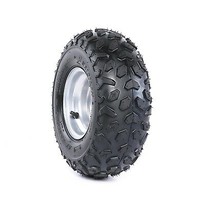 145/70-6'' Front Rear Wheel Nylon Tyre Tire With Rim 110cc Quad Bike ATV Buggy