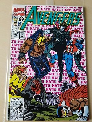 The Avengers #342 (Marvel) Condition VF-NM