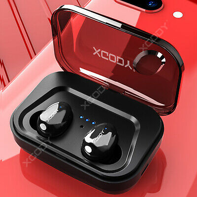 Mini Wireless Bluetooth 5.0 Earbuds Sport True Bass Twins Stereo In-Ear Earphone