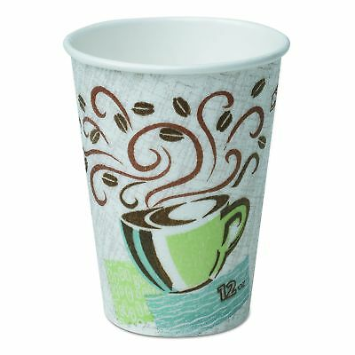 Dixie PerfecTouch Coffee Haze 16 oz. Insulated Paper Hot Cup Pack Size: 500