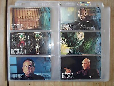 Star Trek First Contact 60 Cards Complete Base Set