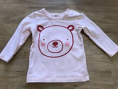 Seed Baby Girl Long Sleeve Top 00 3-6 Months