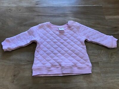 Seed Baby Girl Quilted Jumper 00 3-6 Months