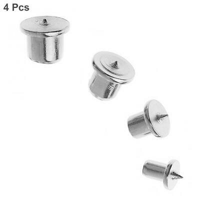 4pcs/set Round Wood Pin Locator Center Punch with 6 / 8 / 10 / 12mm for Woodwork