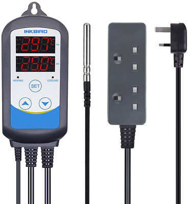 ITC-310T-B UK PLUG Digital Temperature Controller Timer Cycle Heater Thermostat