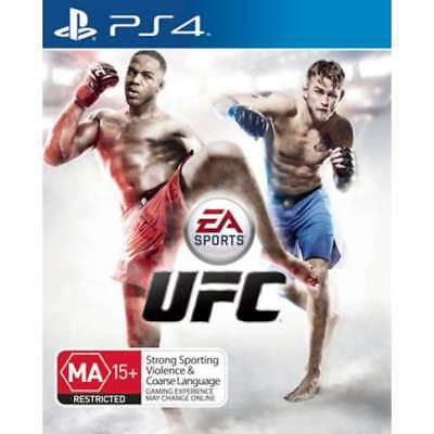 UFC  Sony Playstation 4 PS4 Game PAL
