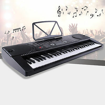 61 Key Music Digital Electronic Keyboard Piano Organ w/Microphone & Led Display