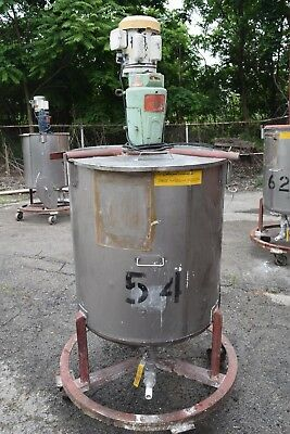 NETTCO MIXER WITH 100 GAL MIXING TANK AND BOTTOM OUTLET NSGB-033 /& NSGB-050