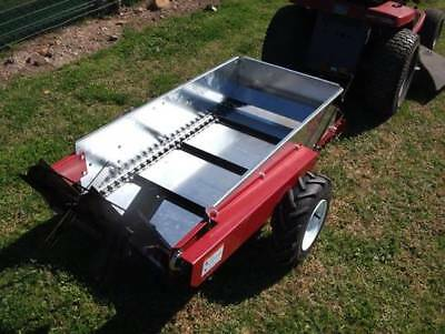 AG-BITS Economy MANURE SPREADER Ground Drive Made in USA Model 15
