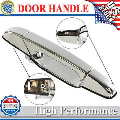 Chrome Outside Door Handle for 2007-2013 Chevy GMC GM Front Passenger Side RH