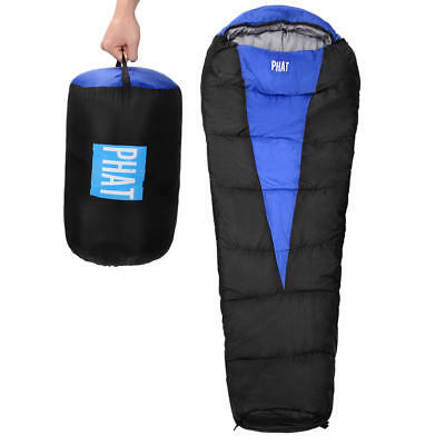 PHAT® Mummy Sleeping Bag Adult Backpacking Lightweight Portable Camping Hiking
