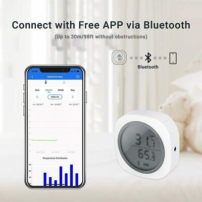 Inkbird Bluetooth Temperature Humidity Data Logger Record thermometer Grow Tent