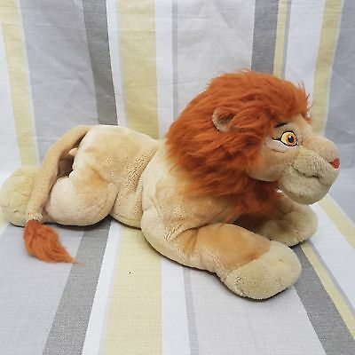 """Mufasa Lion From The Lion King 16"""" Soft Toy Plush By Disney"""