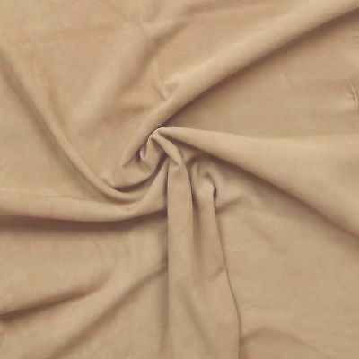 Silky soft goat suede with velvet nap Bahama sand BARKERS HIDE H359
