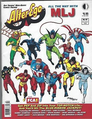 ALTER EGO #82 Mutants  NM 2008 Roy Thomas Hero Happy Super Heroes NM