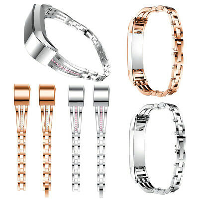 Replacement Steel Watch Band Bracelet Wristband Metal Strap for Fitbit Alta / HR
