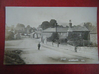 Eyam: Village Centre - Scarce Early Real Photo Postcard!