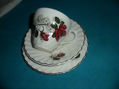Old Foley cup saucer trio