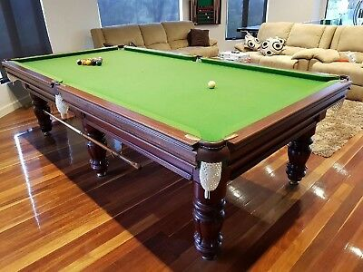 BILLIARD / SNOOKER TABLE 9ft x 4ft 6inch TOURNEMANT GRADE SOLID TIMBER