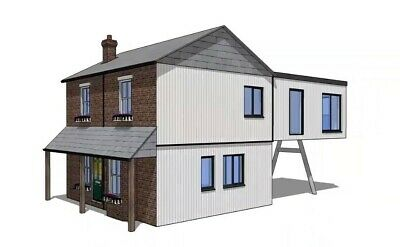 Modular Building, Sectional  House, Pre-Fab, Kit Home, Build, Design! X-Demo !