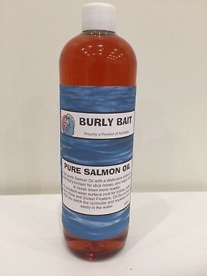 Burly Bait Pure Salmon Oil Attractant Boilies Burley Dip Stick Spod Liquid 500ml