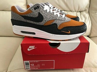 2018 Nike Air Max 1 What The Safari Size? Exclusive Sizes Uk 6 7 8 9 10 11 New