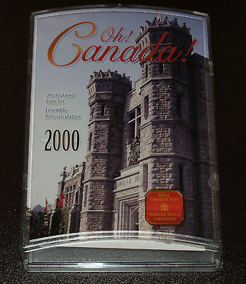 Beautiful 2000 Canada Uncirculated Mint Set!  In mint packaging!